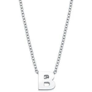 Amor NU 20% KORTING: Amor ketting met hanger Persoonlijke letter A-Z, 2026707-2026730  - 24.99 - zilver