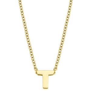 Amor ketting met hanger Letter A-Z, 2026731  - 27.99 - goud
