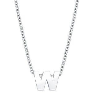 Amor ketting met hanger Persoonlijke letter A-Z, 2026707-2026730  - 24.99 - zilver