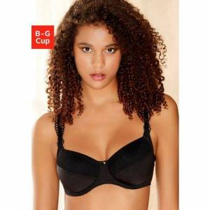 Viania NU 20% KORTING: Viania beugel-bh Sally  - 32.99 - zwart - Size: 75;80;90;95;100