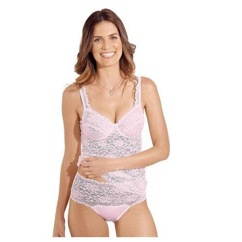 Nina Von C. bh-hemd met beugels  - 49.99 - roze - Size: 75 D; 80 D; 85 D; 90 D; 95 D