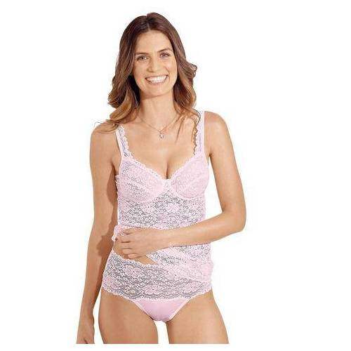 Nina Von C. bh-hemd met beugels  - 49.99 - roze - Size: 75 C; 80 C; 85 C; 90 C; 95 C