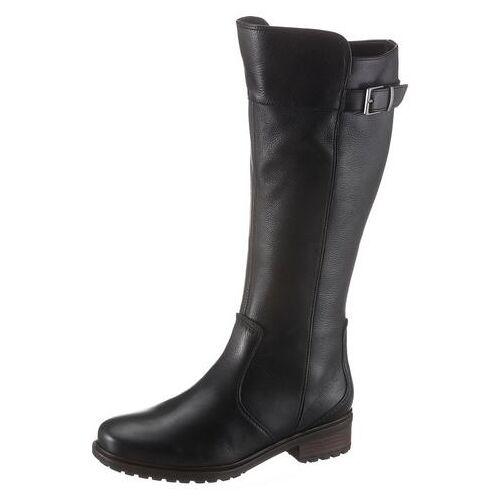 Ara NU 20% KORTING: Ara laarzen met wijde schacht Kansas met xl-schacht, in used look  - 160.00 - zwart