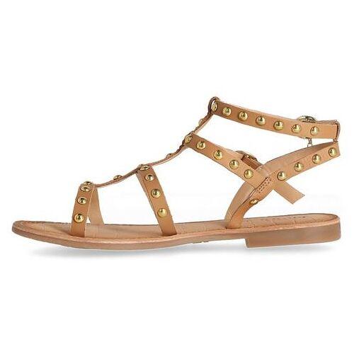 Mexx NU 20% KORTING: Mexx romeinse sandalen met studs  - 59.99 - bruin - Size: 36;37;39;40;41