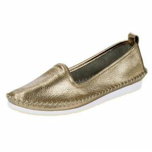 Andrea Conti NU 20% KORTING: Instappers  - 74.99 - goud - Size: 42;43