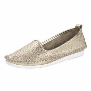 Andrea Conti Instappers  - 74.99 - goud - Size: 35;36;37;38;39;40;41;42