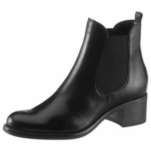 Tamaris NU 20% KORTING: Tamaris chelsea-boots »Molli«  - 89.95 - zwart - Size: 37;39;41