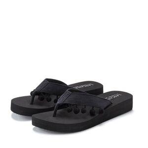 LASCANA teenslippers  - 24.99 - zwart - Size: 35;36;37;38;39;40;41;42