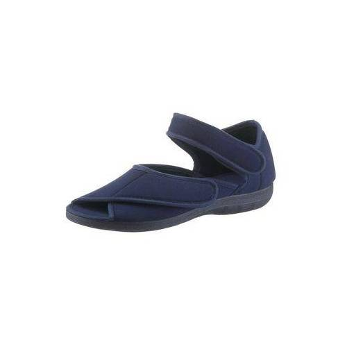 Classic Klittenbandschoenen met 2 sluitingen opzij  - 29.99 - blauw - Size: 36;37;38;39;40;41;42