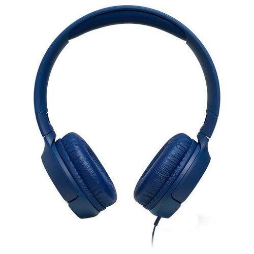 JBL »Tune 500« on-ear-hoofdtelefoon (bedraad, spraakbesturing, geïntegreerde microfoon)  - 29.99 - blauw