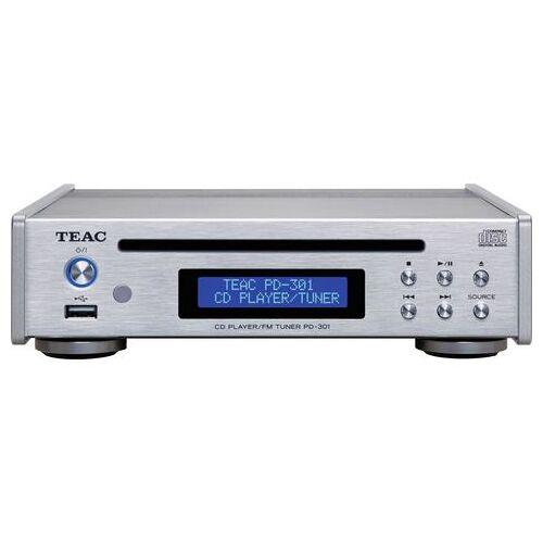 Teac cd-speler PD-301DAB-X USB-muziekspeler en DAB/FM-tuner  - 427.00 - zilver