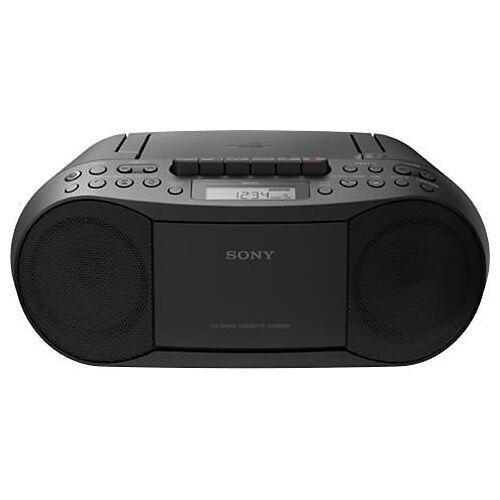 Sony CFD-S70 CD-speler/radio-cassetterecorder  - 78.00 - zwart