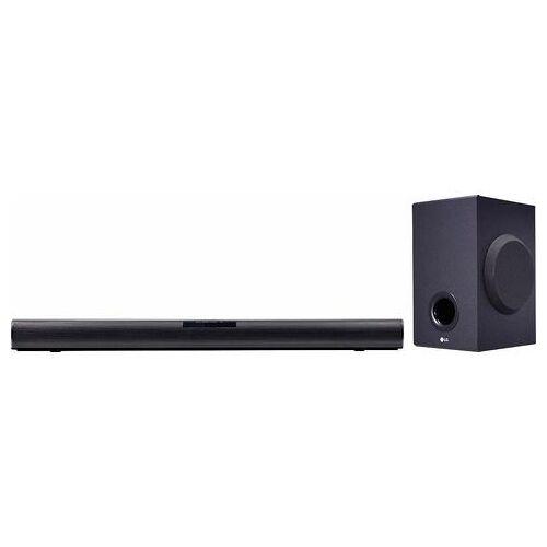LG soundbar SJ2 Videoformaat: WMA, Dolby Digital  - 123.76 - zwart