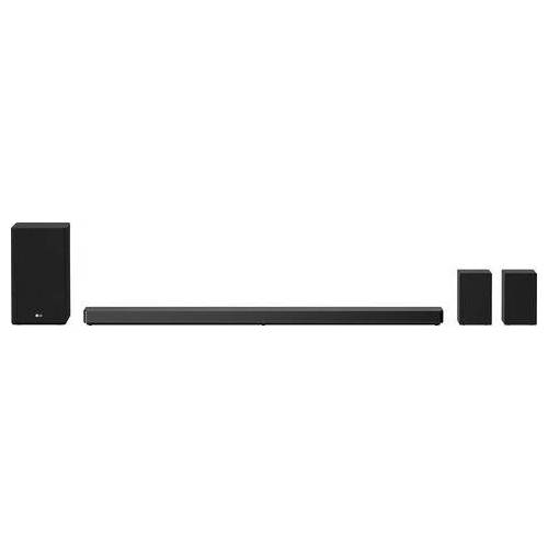 LG soundbar DSN11RG geluidssysteem google assistant geïntegreerd  - 1459.67 - zwart