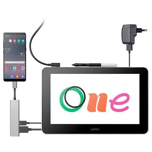 Wacom grafische tablet One 13 pen  - 399.00 - wit