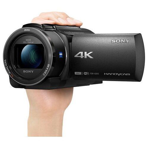 Sony camcorder AX43  - 697.04 - zwart