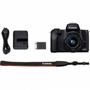 Canon »EOS-M50 EF-M15-45 Kit« systeemcamera (EF-M 15-45, 24,1 MP, NFC wifi bluetooth)  - 595.05 - zwart