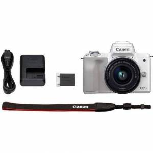 Canon »EOS-M50 EF-M15-45 Kit« systeemcamera (EF-M 15-45, 24,1 MP, NFC wifi bluetooth)  - 625.05