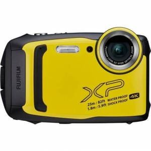 Fujifilm »Finepix XP140« outdoorcamera (FUJINON, 5x optische zoom, F3,9 (groothoek) – F4,9 (tele))  - 172.20 - geel