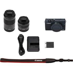 Canon »EOS M200 EFM 15-45mm + EFM 55-200« systeemcamera  - 785.05 - zwart