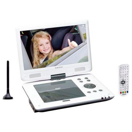 Lenco Draagbare dvd-speler »DVP-1063WH« (DVB-T2 Tuner)  - 157.70 - wit