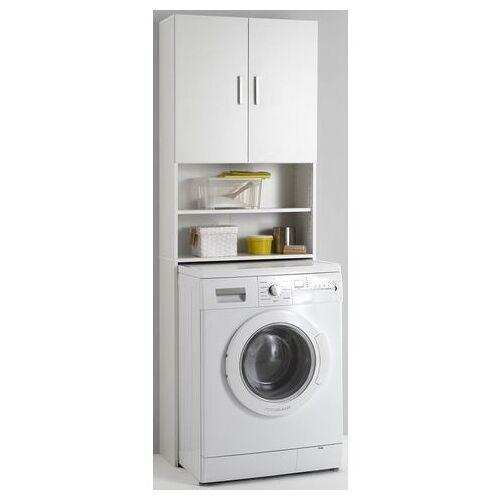 FMD kast voor wasmachine Olbia met 2 open vakken  - 79.99 - wit