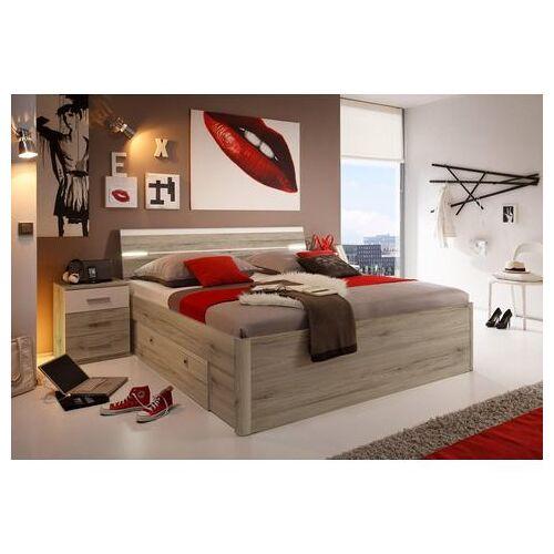 Schlafkontor bed incl. 2 nachtkastjes en 2 lades  - 399.99 - beige