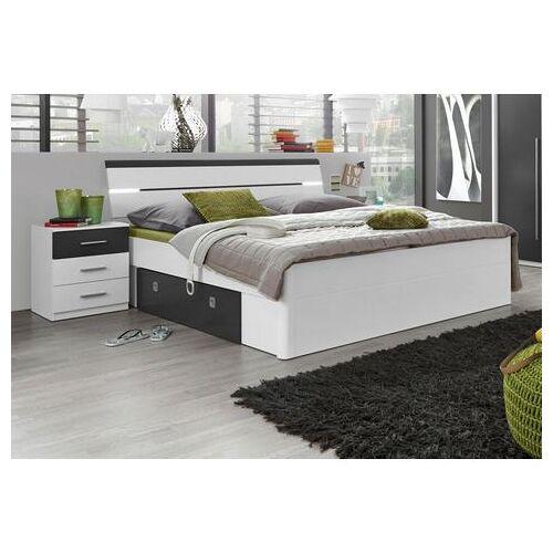 Schlafkontor bed incl. 2 nachtkastjes en 2 lades  - 399.99 - wit