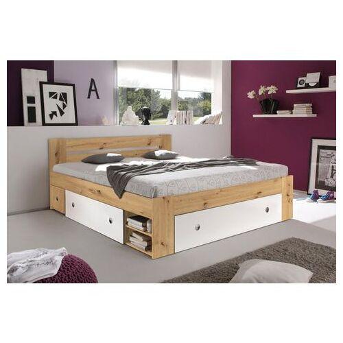 Schlafkontor ledikant met bergruimte Stefan inclusief nachtkastjes en laden  - 329.99 - beige