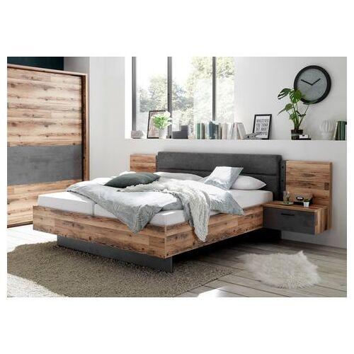 Schlafkontor ledikantframe ALICANTE inclusief 2 nachtkastjes  - 579.99 - bruin
