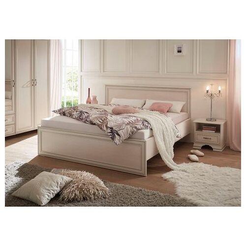 Schlafkontor ledikantframe Venetië inclusief 2 nachtkastjes  - 419.99 - wit