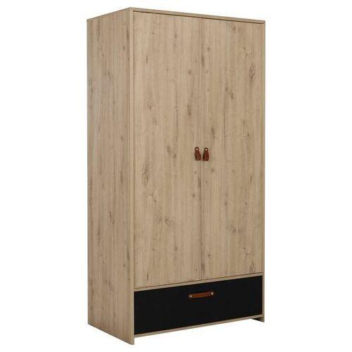 Gami kledingkast Arthus  - 379.99 - bruin - Size: 102 cm x 200 cm x 60 cm