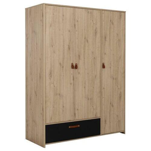 Gami kledingkast Arthus  - 449.99 - bruin - Size: 152 cm x 200 cm x 60 cm