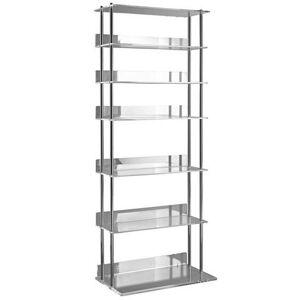heine Cd-rek  - 159.99 - zilver - Size: hxbxd ca. 110x43x24 cm, breed