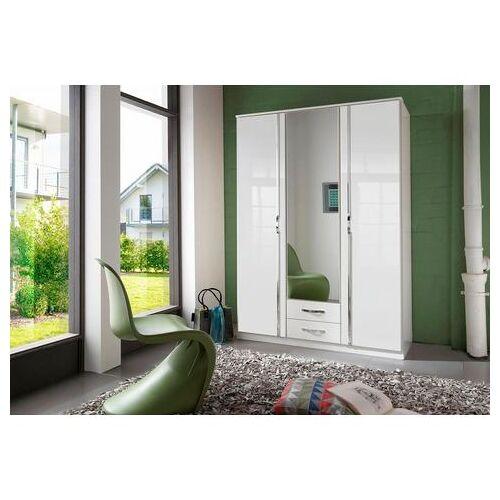 WIMEX hoekkast »Bonn«  - 369.99 - wit - Size: 135x197x58 (bxhxd) cm , 3-deurs