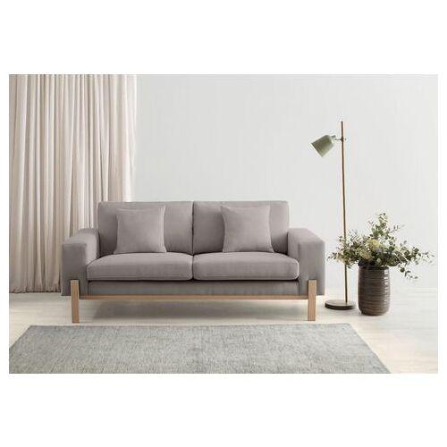 OTTO products 2-zitsbank Hanne Bekleding van natuurlijke materialen: katoen en linnen  - 599.99 - grijs