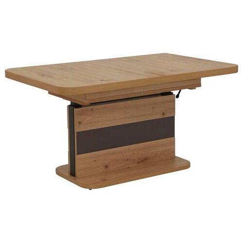 HELA salontafel  - 449.99 - bruin - Size: tafelblad: houtmateriaal houtmateriaal, frame: houtmateriaal