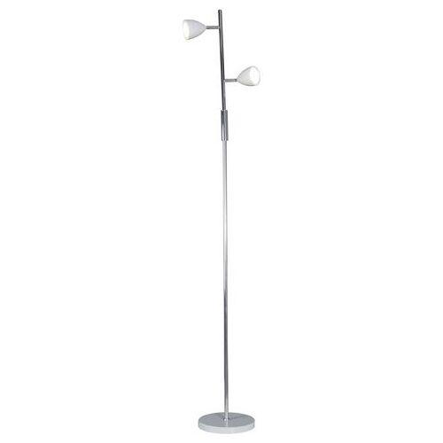 NÄVE Staande LED-lamp met 2 fittingen  - 54.99 - wit