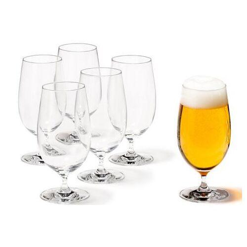 LEONARDO bierglas 6-delig (set, 6-delig)  - 39.99 - wit