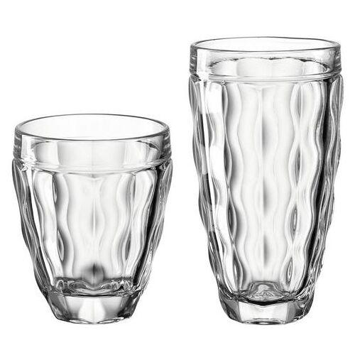 LEONARDO glazenset BRINDISI (4 bekers klein, 270 ml, 4 bekers groot, 370 ml) (set, 8-delig)  - 39.60 - wit