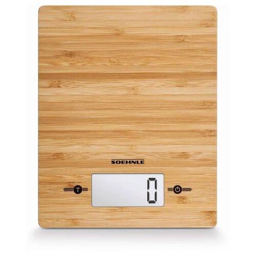 Soehnle digitale keukenweegschaal, »Bamboo«  - 37.99 - beige - Size: 20 x 16 cm