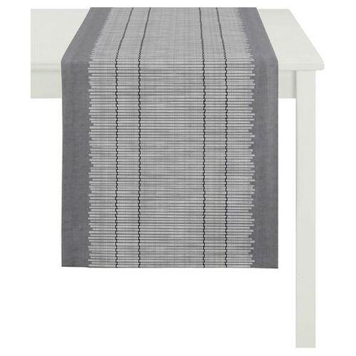 APELT tafelloper 3033 loft bamboemat (1 stuk)  - 37.99 - grijs - Size: 48x140 cm