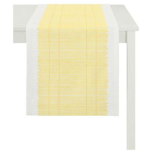 APELT tafelloper 3033 loft bamboemat (1 stuk)  - 37.99 - wit - Size: 48x140 cm
