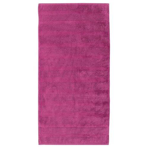 Cawö handdoeken  - 28.99 - roze - Size: 2x 50x100 cm