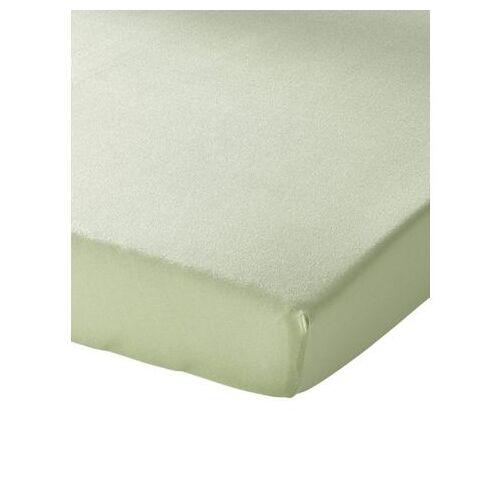 Schlafgut Hoeslaken  - 19.99 - groen - Size: ca. 120-130/200 cm, Hoeslaken;ca. 140-160/200 cm, Hoeslaken;ca. 180-200/200 cm, Hoeslaken;ca. 90-100/200 cm, Hoeslaken