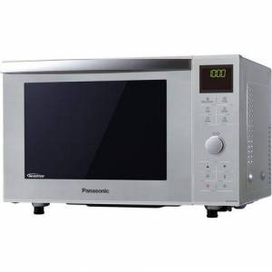 Panasonic combimagnetron NN-DF385MEPG, met grill, 23 liter gaarruimte  - 242.31 - zilver