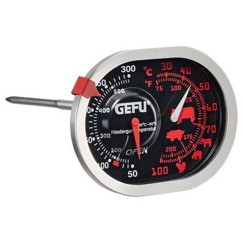 GEFU braadthermometer MESSIMO 3in1, roestvrij staal  - 19.99 - zilver