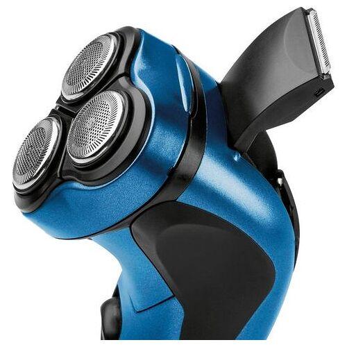 ProfiCare tondeuse PC-HR 3053 drievoudig scheersysteem met flexibele scheerkoppen voor een snelle en nauwkeurige scheerbeurt  - 19.99 - blauw
