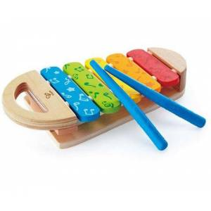 Hape speelgoed-muziekinstrument  - 17.99 - multicolor