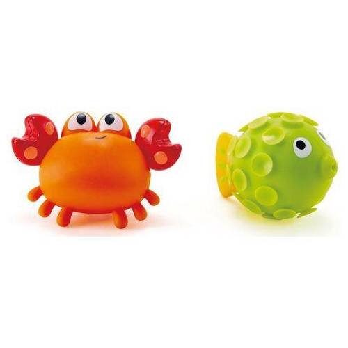 Hape badspeelgoed Rif Vriendjes  - 12.99 - oranje